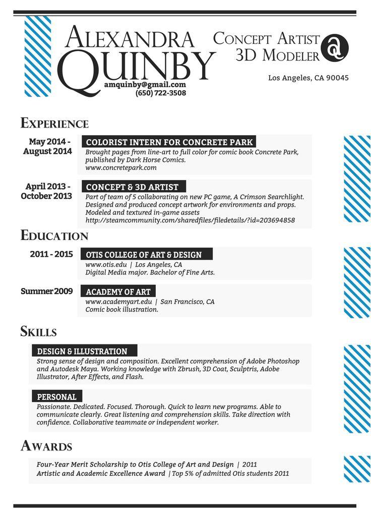 14 best Resume images on Pinterest Resume design, Creative - flash animator sample resume