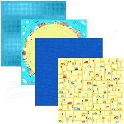 Folha para Scrapbook Brincadeira   Folha impressa com cores sólidas, ideais para servirem de base em trabalhos de Scrapbook ( Decoração de Álbuns) e artesanato em geral. Totalmente ACID e LIGNIN FREE.   Contém: 1 folha estampada  Medidas: 305 x 315 mm  Gramatura: 180 g/m²     Fabricante:  Toke e Crie