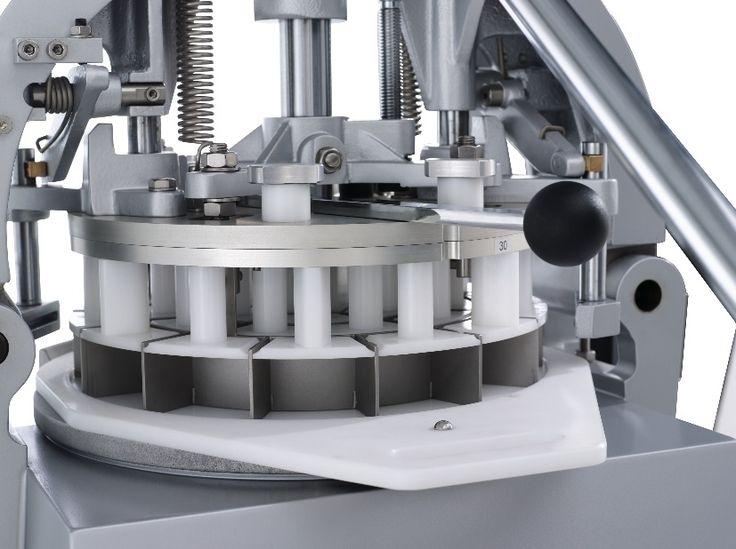 DSA, Semi-automatic bun divider with removable press, Dough divider, bread divider, bakery divider, Ferneto, bakery machine