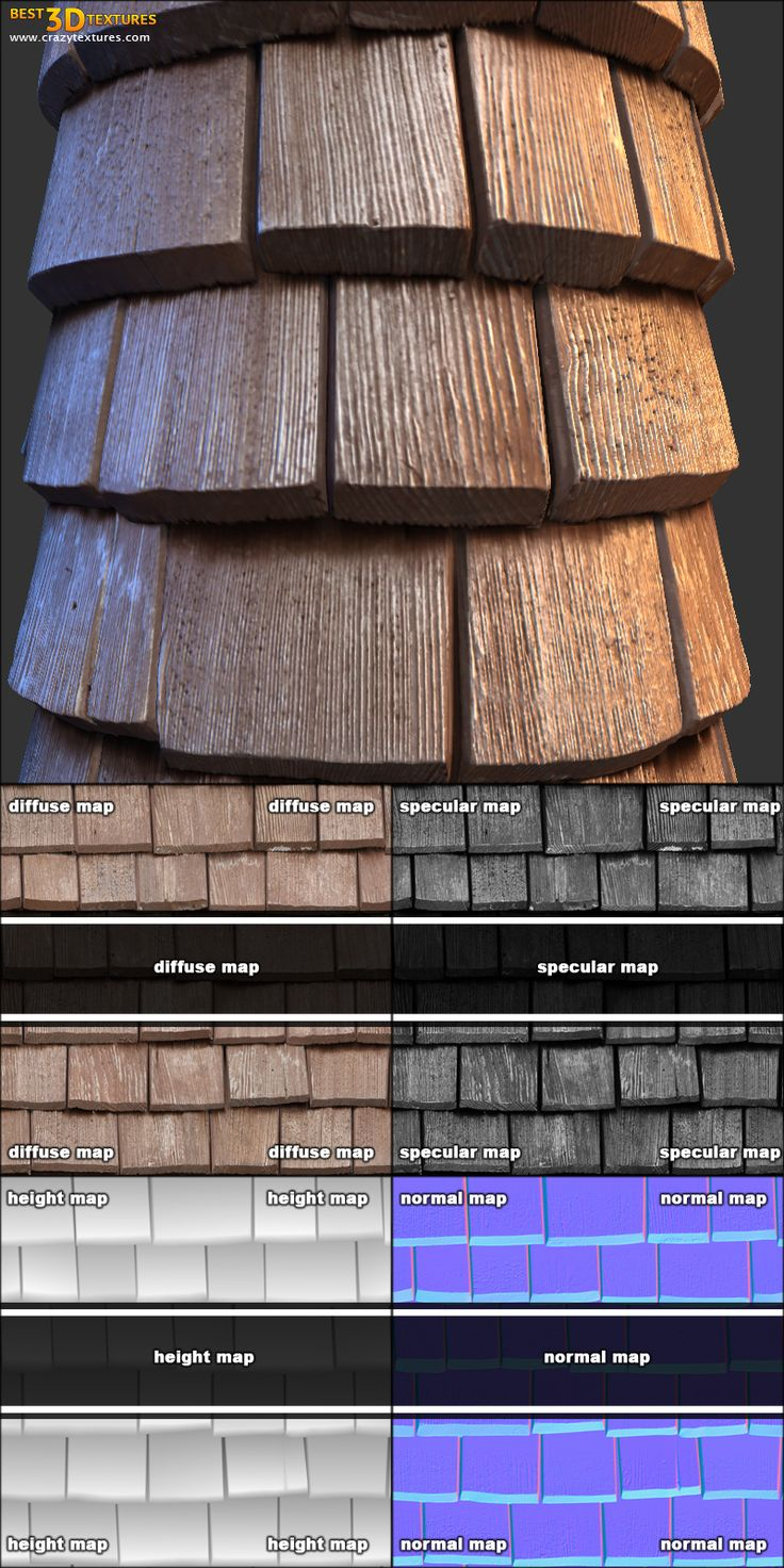 Roof 09. A seamless roof texture from www.CrazyTextures.com