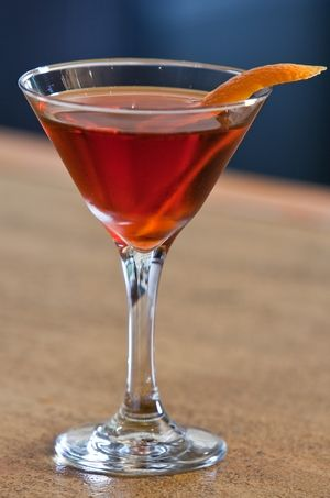 Classic Negroni Cocktail 1 oz Campari 1 oz gin 1 oz sweet vermouth 1 ...
