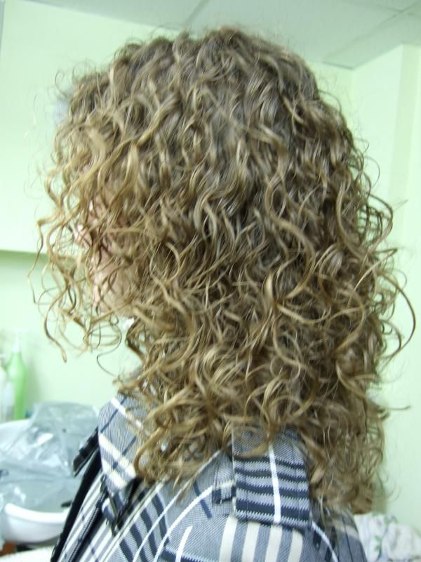 Looser Spiral Perm Hairstyles Pinterest Back To
