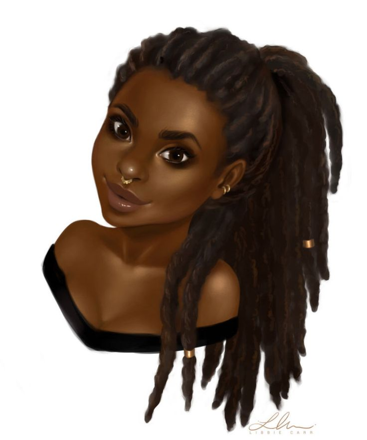 Black girl pic #slayingwithdreads