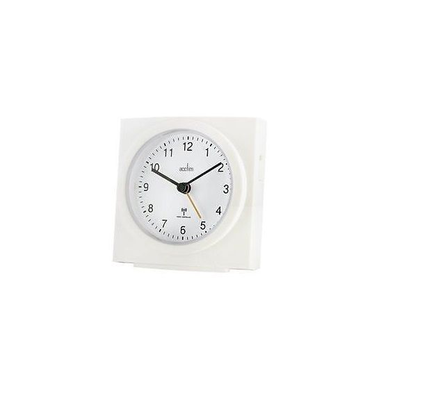 Acctim midhurst analogue alarm clock #white #radio #controlled,  View more on the LINK: http://www.zeppy.io/product/gb/2/122170995119/