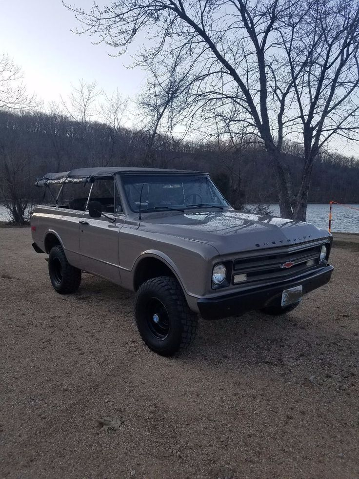 very clean 1971 Chevrolet Blazer offroad