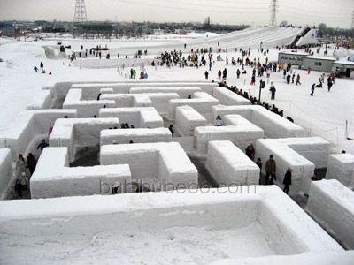 Ice Maze Japan