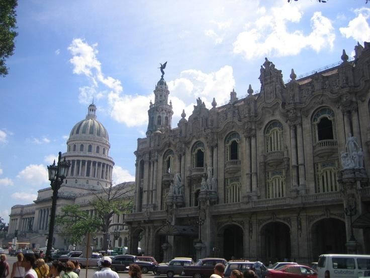 Capitolio building in Havana