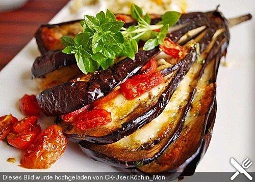 Gebackene Auberginen, ein tolles Rezept aus der Kategorie Gemüse. Bewertungen: 78. Durchschnitt: Ø 4,4.