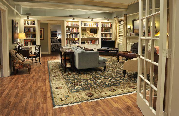 "Living room from the set of ""Madam Secretary"""