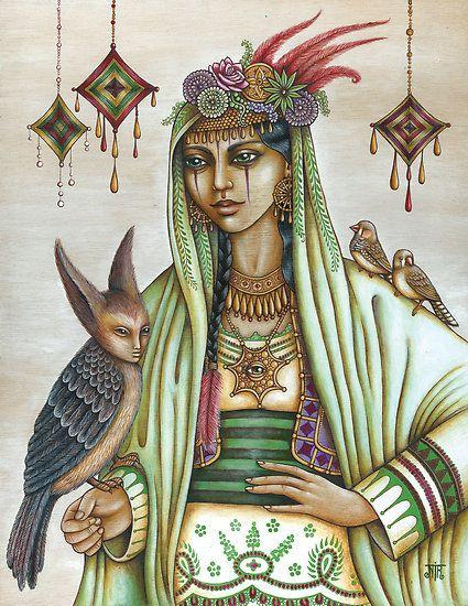 Keja : uma cigana xamã, que pode se transmutar e conhece todas as formas de magia. Evitada por seu povo, ela faz sua casa nos bosques e selvas , longe de outros povos , seus únicos companheiros sendo os animais estranhos e aves de florestas.