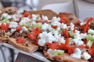 Greek-style Nachos | Recipe | Nachos, Nacho Recipes and Recipes For