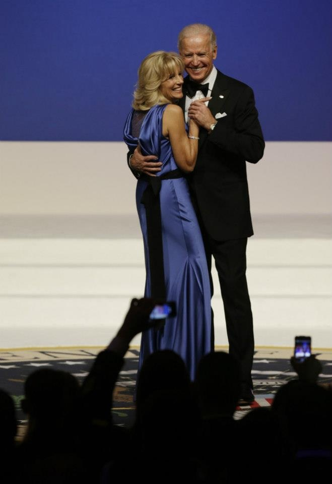 VP Joe Biden and Jill Biden, at innaugural ball jan 20 2013....  VP Biden one of the best VP*s,   back for 4 more yrs...he and Barack Obama very simpatico.... together they make USA people proud..