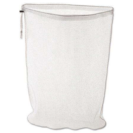 Rubbermaid Commercial Laundry Net, 24w x 24d x 36h, Synthetic Fabric, White, Clear