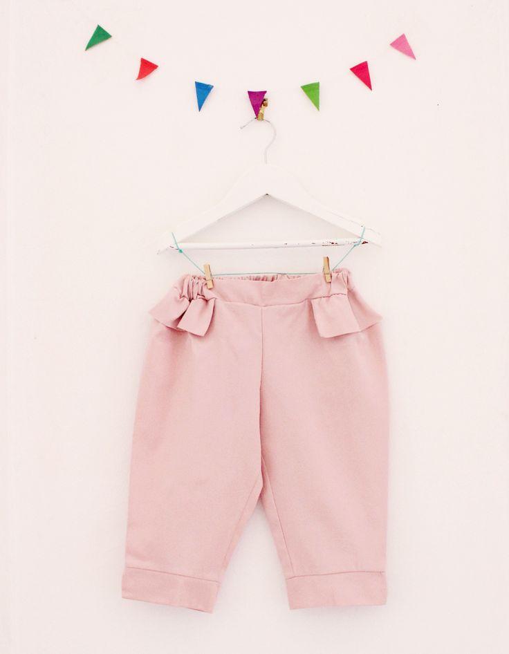 Pantaloni Pink Martini - Les Petits Vagabonds - Shop online www.mirtilla.eu