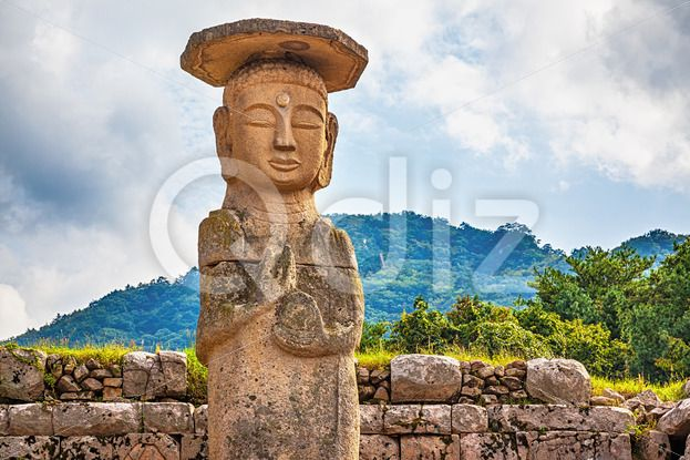 Qdiz Stock Photos | Big or giant Buddha statue in Korea,  #antique #architecture #asia #asian #big #Buddha #buddhism #buddhist #culture #day #giant #god #Korea #korean #landmark #monument #national #place #religion #religious #sculpture #sky #South #statue #stone #traditional #worship
