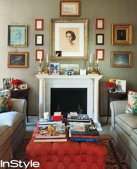 Carolina Herrera home - gorgeous!