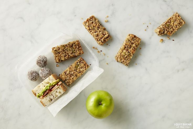 Need a healthy snack for your kids lunch box, or something to tie you over at work? Our Muesli Bar mix is great for the job. Available at Woolworths. – I Quit Sugar