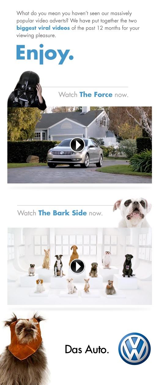 Volkswagen Viral Videos by Simply Zesty.