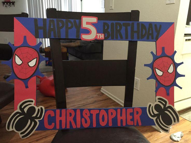 Spider-man frame by EmmyzCustomDecor on Etsy https://www.etsy.com/listing/448972940/spider-man-frame