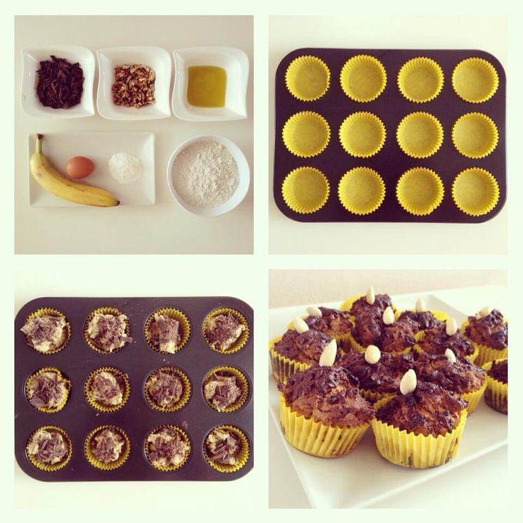 Čokoládové muffiny - Fitness Recepty