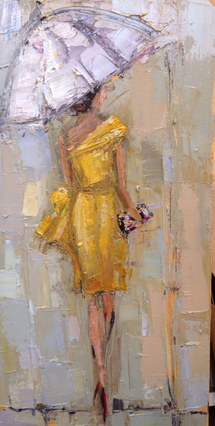 Kathryntrotterart.com, #fashionladiesinthe rain…