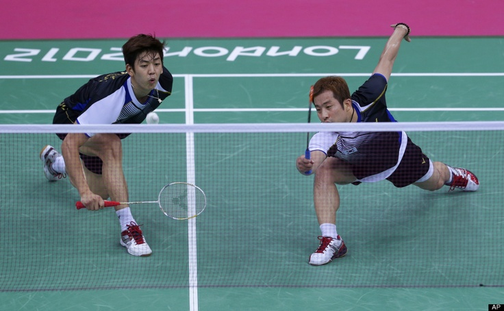 Chung Jae-sung and Lee Yong-dae