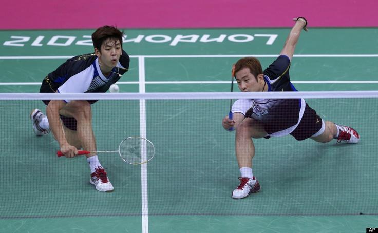 Chung Jae-sung and Lee Yong-dae