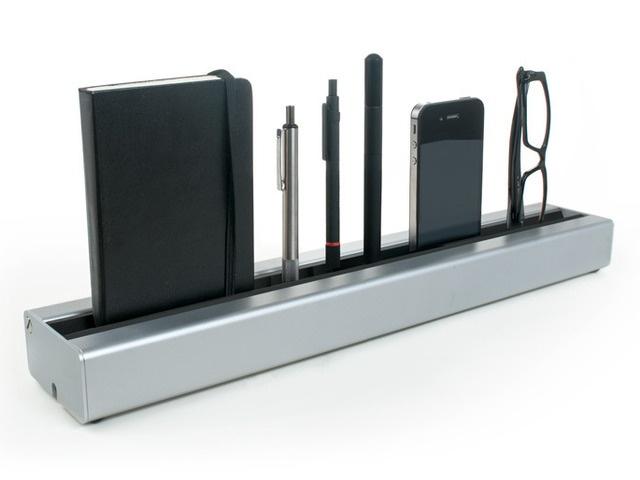 Desk Rail - A fresh take on desk organization by Desk Rail, via Kickstarter.