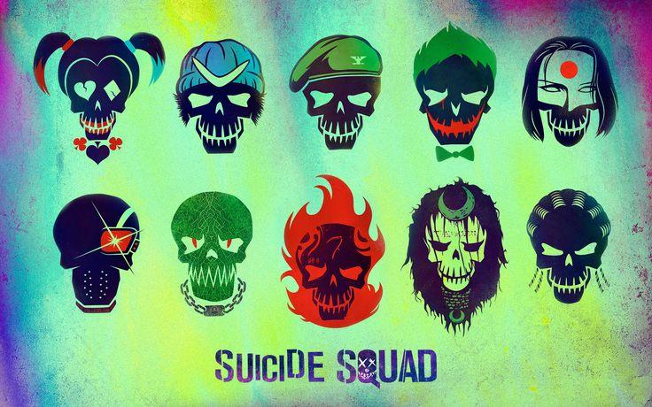 Suicide Squad Skulls (1920 x 1200) #wallpaper