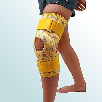 OR 7B - Ortéza kolenního kloubu, krátká léčebná s kloubem – návleková