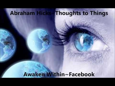 Abraham Hicks~Identifying the desire and holding no resistance. - YouTube