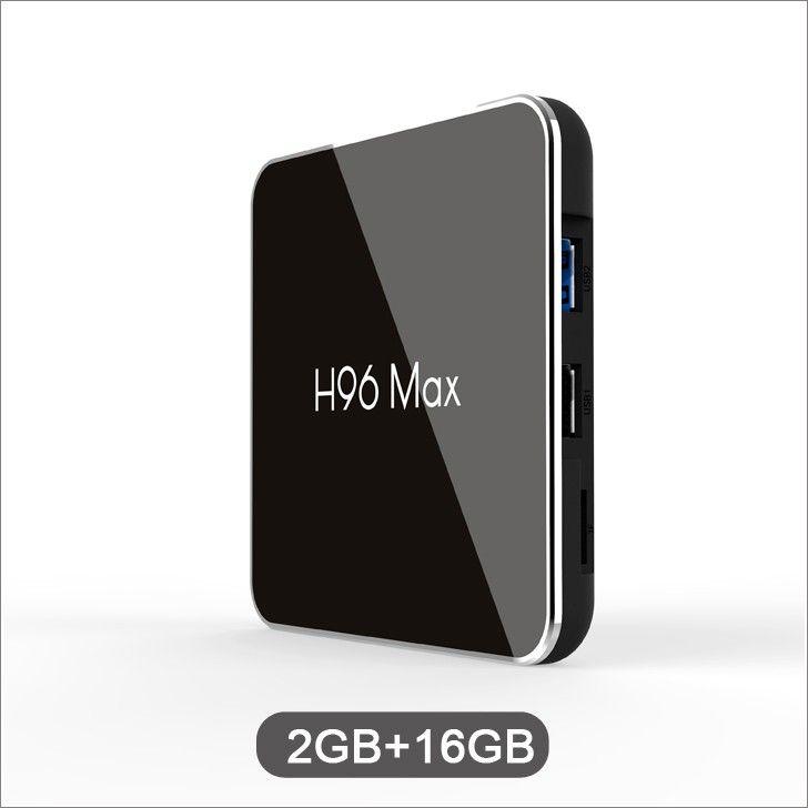 2019 的 H96 Max X2 Voice remote control Android TV Box 主题 | H96