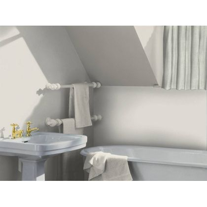 Frosted Steel Dulux paint - available now at Homebase in store and online at homebase.co.uk.