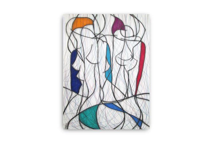 Seven Colour Abstract VI. Discover @Treniq