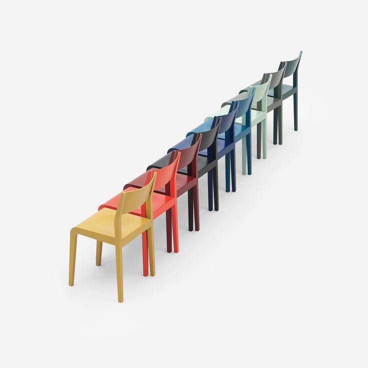 #Alpha, the simplest #chair. #design #designer #minimalism #designlovers #designlove #colors #colorful #minimalismo #designers #sedia #sedie