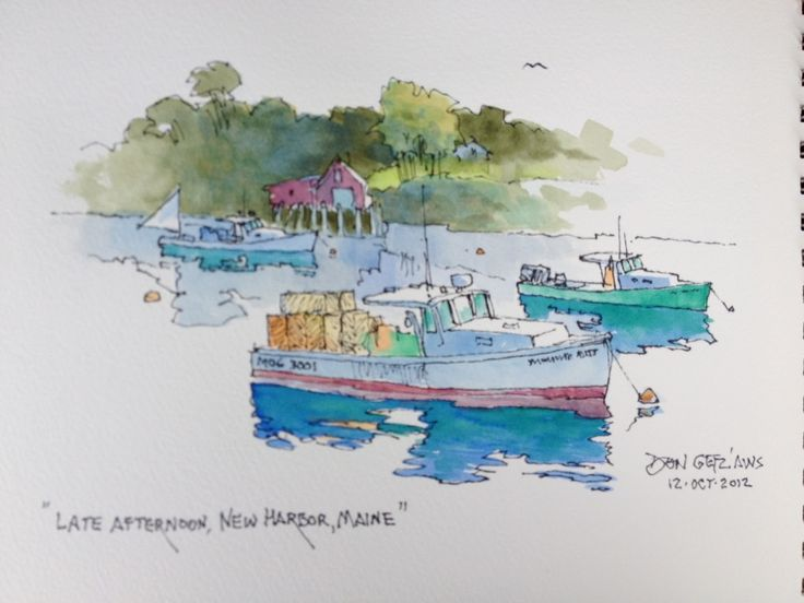 Planning for the tour started in February, as I looked at my 'bucket list', for those things which I wanted to achieve in my artistic life. I've enjoyed sharing my art knowledge with fellow artists for over fifty years. It's a joy sketching & painting 'en plein air', over being in a studio. Journaling can be done anywhere; on a ship, a train, car or whatever. This makes it ideal for seniors who can't or won't lug an easel and other items used in ske...