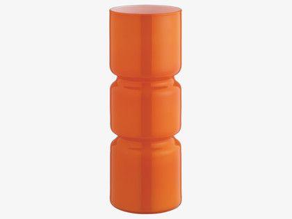 FITZ ORANGES Glass Orange glass table lamp - HabitatUK