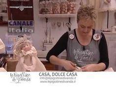 Video tutorial targato Le Pigottine di Vanda mirato alla realizzazione di una ghirlanda decorativa natalizia!