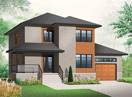 Narrow Lot House Plans 2nd Floor And Butler Pantry On