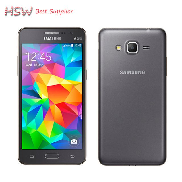 """Original Samsung Galaxy Grand Prime G530h Unlocked Cell Phone Quad core Dual Sim 5.0 """"Inch TouchScreen Android Phone Refurbished - Get yours at http://s.click.aliexpress.com/e/RjmqV37 #Samsung #Smartphone #Android"""