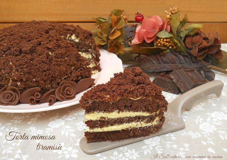 Torta+mimosa+tiramisù