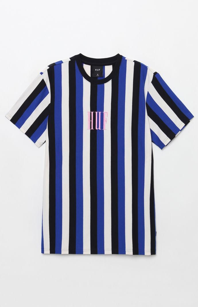 67c063d0c8 PacSun : HUF-Marka Stripe T-Shirt | Fresh Apparels and Accesories in ...
