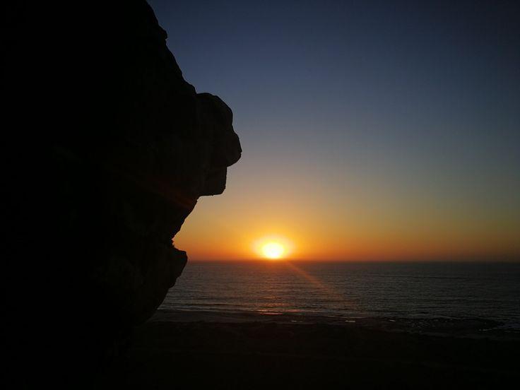 Sunset at Elands bay cave