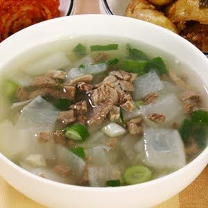 Ask a Korean!: Recipe -- Beef Turnip Soup (this blogger calls it a turnip, but this is beef and radish guk part 2)