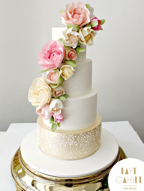 wedding cakes on pinterest pretty cakes painted wedding cake and