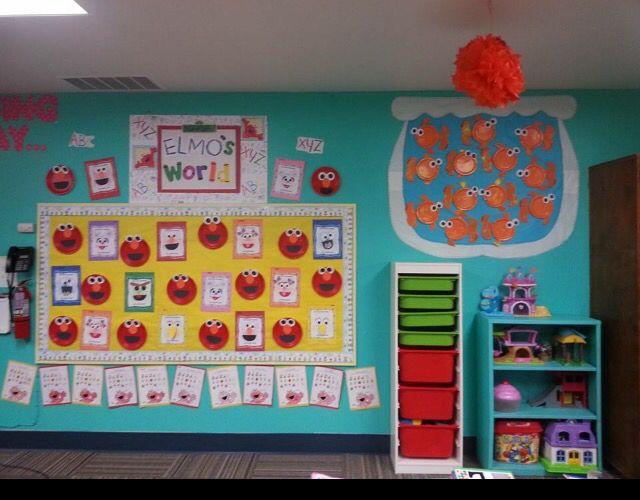 Sesame Street theme classroom Prek