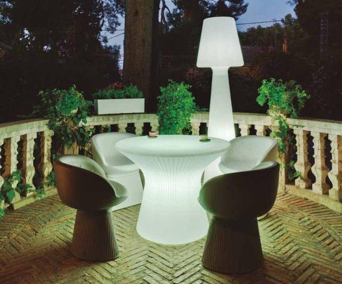 Comprar l mparas de led luz interior para terrazas y for Lamparas de exterior para terrazas