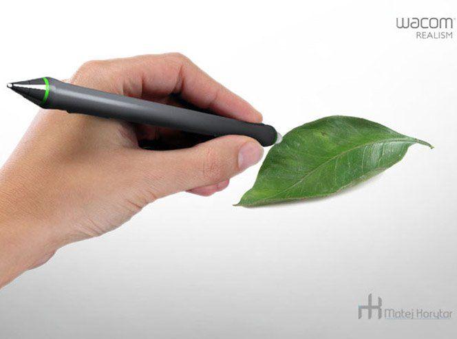 """O mundo ainda depende de ferramentas de escrita - não podemos nos esquecer. Sabendo disso, o designer Matej Korytar levou a WACOM, marca de instrumentos de escrita digitais, para um outro patamar com a criação da WACOM REALISM - uma caneta com muitas habilidades especiais. Essa caneta, além de ser capaz de instantaneamente """"scannear"""" qualquer cor existente e transpô-la para uma tela ou aplicativo de escrita, tem a capacidade de capturar o calor da mão humana e convertê-lo em energia para…"""