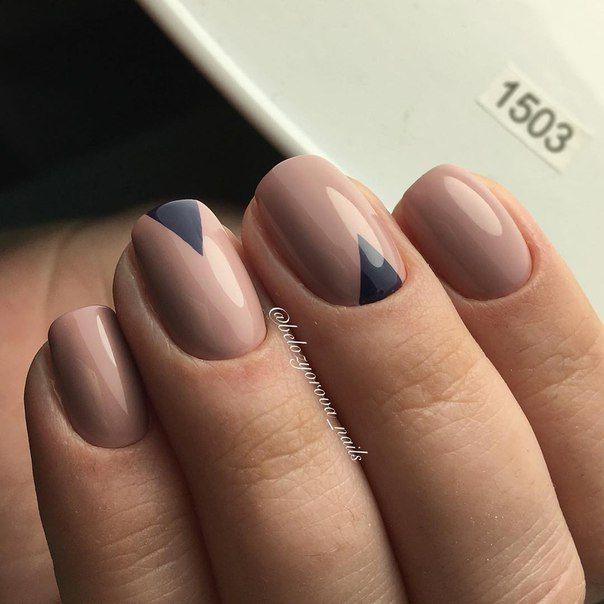 art simple nail - Ideas For Nail Designs
