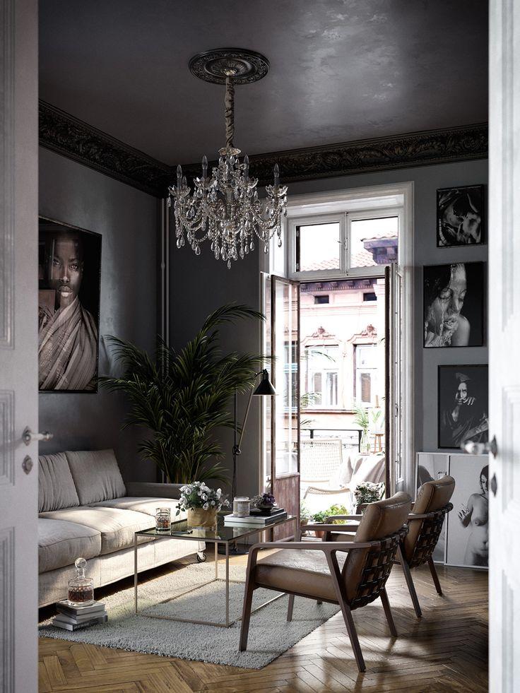 Dit Scandinavische huis heeft een bijzondere mix van stijlen - Roomed